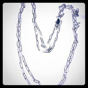 30 inch sterling silver 925 chain.